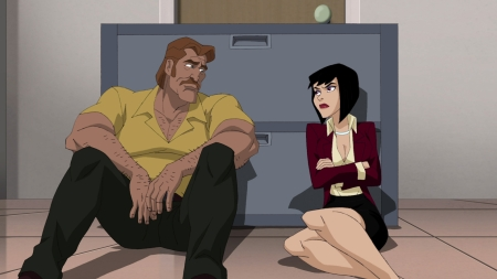 Lois Lane-Still Getting Hit On During A Major Crisis!