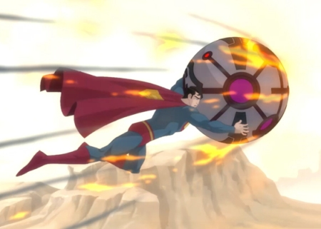 Superman-Arizona Town Saved!