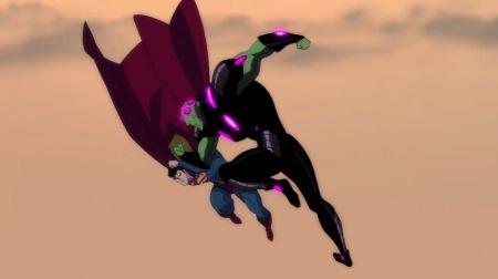 Superman & Brainiac-Going Down!