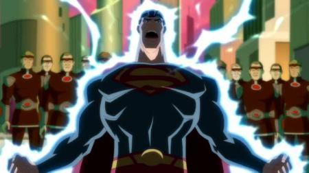 Superman-Shocking Punishment!