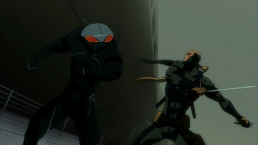Black Manta & Deathstroke-To The Death!