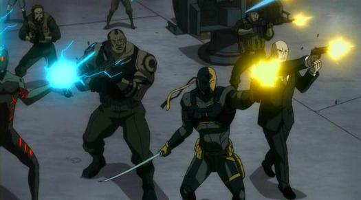 Deathstroke & Lex Luthor-A Futile Resistance!