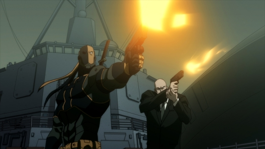 Deathstroke & Lex Luthor-Under Fire From Atlantis!