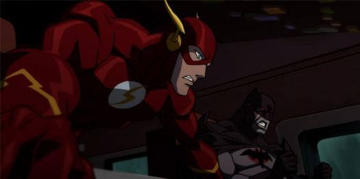 Flash & Batman-Flying Into A Fracas!