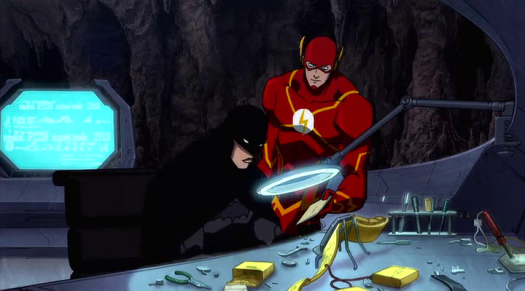 Flash-Delivering A Message From Beyond Time, Space, & Death!