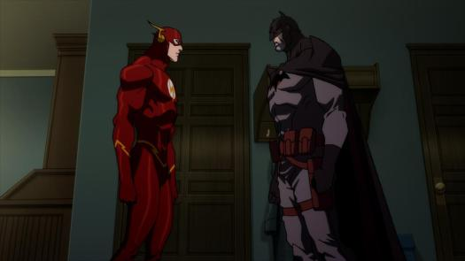 Flash-Don't You Dare Give Up The Fight, Batman!