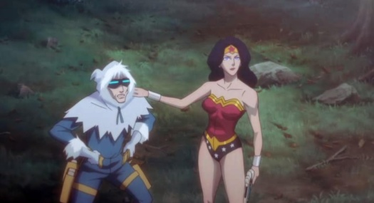 Wonder Woman-Consider Yourself Alive, Captain Cold!