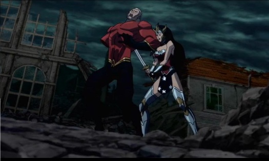 Wonder Woman-The Deathblow To Aquaman!