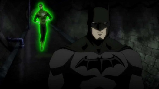Batman & Green Lantern-On The Hunt Through The Sewer!