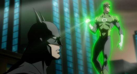 Batman & Green Lantern-Wanted By The Fuzz!