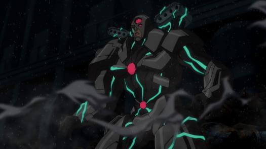 Cyborg-Packing Firepower!