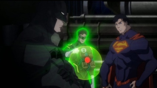 Justice League-Figuring Out A Connection!