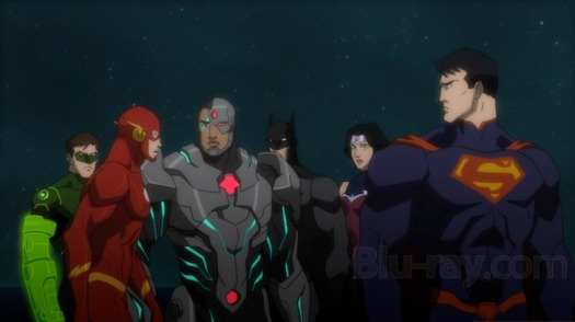 Justice League-Only Applause For You!