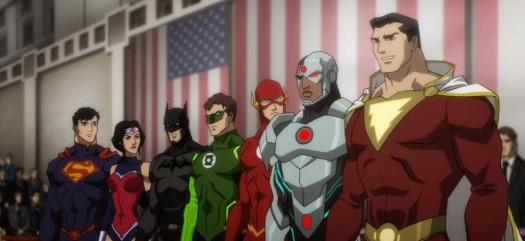 Justice League-Presidential Praise!