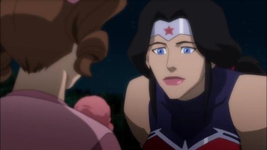 Wonder Woman-Discoving The Joys Of Ice Cream!
