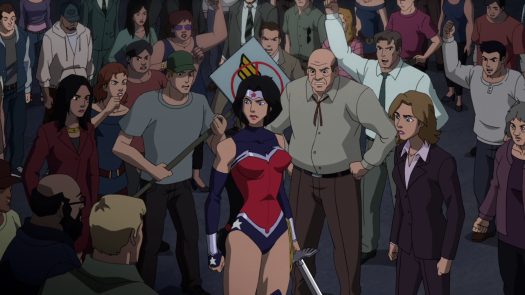 Wonder Woman-Not Exactly A Hero's Welcome!