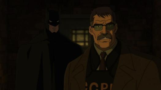 Batman & James Gordon-Looking For Answers!