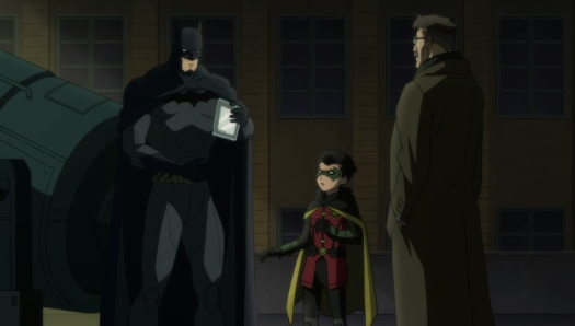 Batman & Robin-Getting Info!