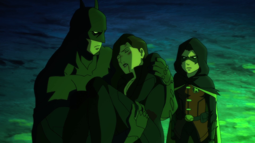 Batman & Robin-Talia Is Barely Holding On!