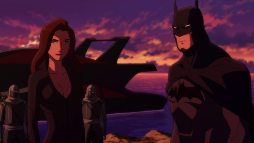 Batman & Talia-Let Damian Decide!