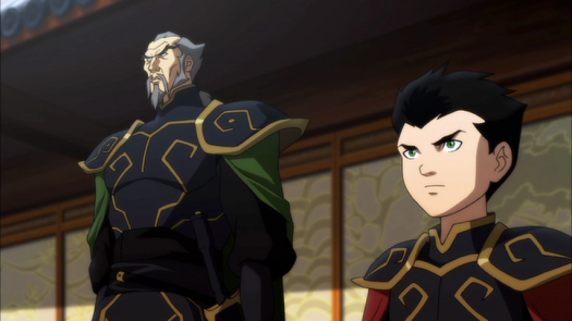 Ra's Al Ghul-Passing The Legacy Onto The Grandson!