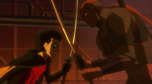 Robin v. Deathstroke-The Final Duel!