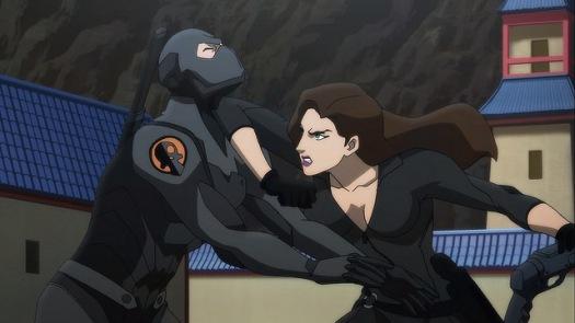 Talia-Fighting Back!