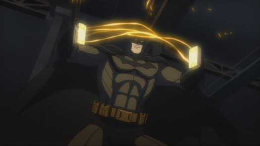 Batman-Fists & Sparks Are Gonna Fly!