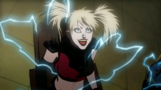 Harley Quinn-An Electric Death To Everyone Else Is A Brain Message To Her!
