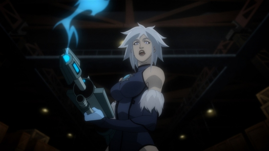 Killer Frost-Delivering A Blizzard From A Gun!