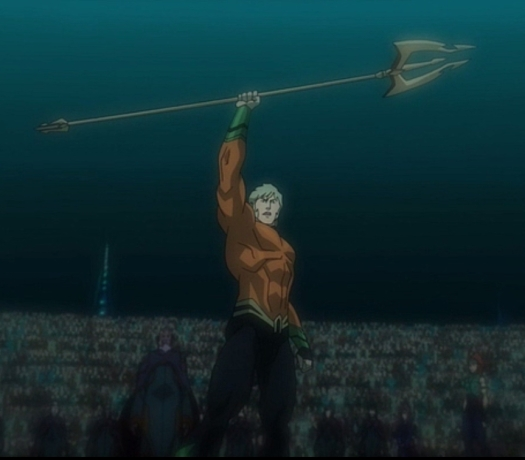 Aquaman-Arise, Atlantean King!
