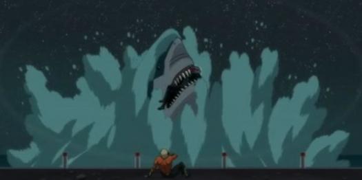 Aquaman-B.M. Talks Too Much!