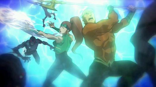 Aquaman & Mera-Closing Out In Style!