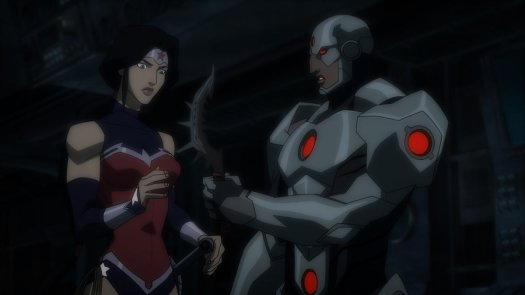 Cyborg-Here's A Little Present From My Undersea Attackers!