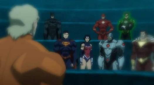 Justice League-Aquaman Is In!