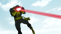 Black Adam-Heat Vision To The Face!
