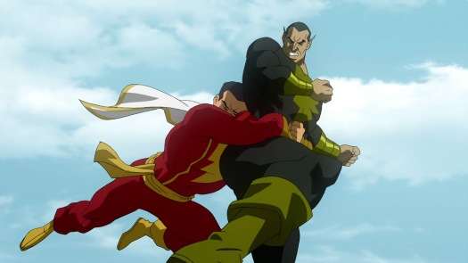 Captain Marvel-Prepare For Your Double Decker O' Pain, Black Adam!
