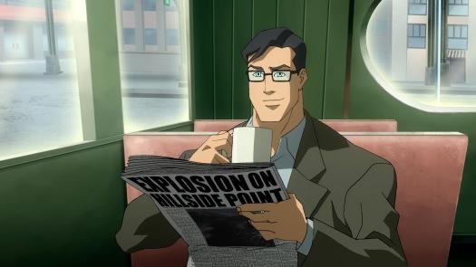Clark Kent-Scooping Down In Fawcett!