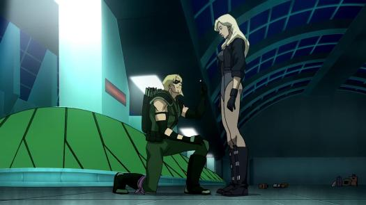 Green Arrow-Will You Marry Me, Dinah!
