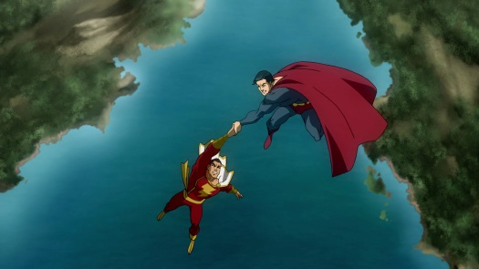 Superman & Captain Marvel-Tag Team Throwdown!
