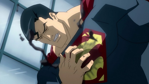 Superman-It's Not Kyptonite, But It Still Badly Hurts!
