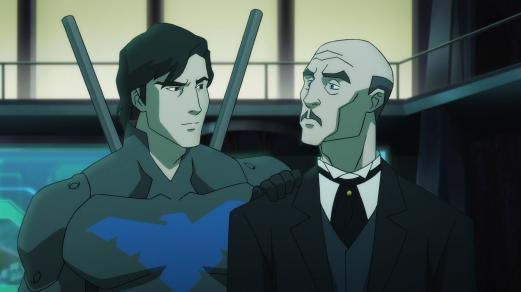 Alfred-Build The Bridge Between Bruce & Damian!