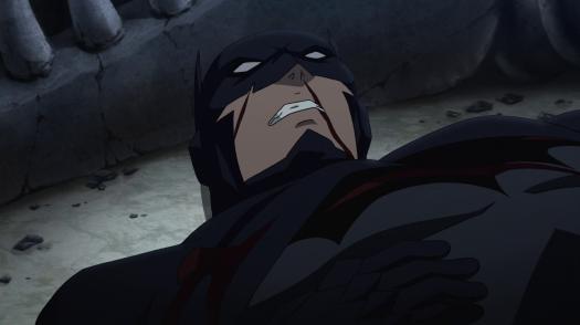 Batman-Defeated And Near Death!