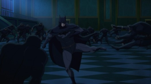 Batman-Defending The Home Turf!