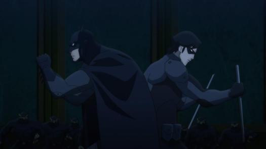 Batman & Nightwing-Olden Days In Danger!