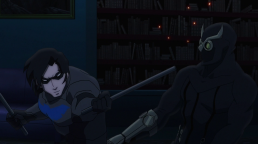 Nightwing-A Pole-Sized Pulverizing!