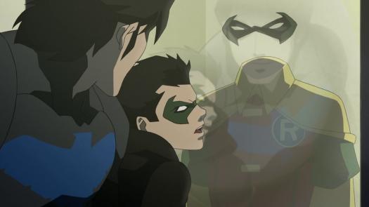 Nightwing-Robin v. Robin!