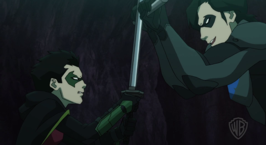 Robin-Nightwing's Tough Training!
