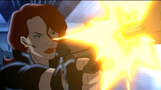 Black Widow-Able To Follow Orders!