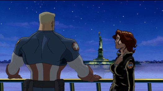 Black Widow-It's Not Your Fault, Cap!